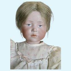 "Antique German 17"" Kammer Reinhardt K*R Marie 101 Mold Doll"