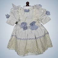Antique German or French Doll Bebe Dress