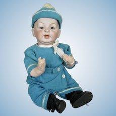 "Gorgeous 16"" German Kestner Bisque Head Baby Doll"