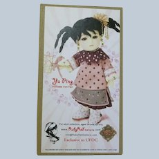 NRFB UFDC Convention Ruby Red Galleria Yu Ping Princess Iron Fan