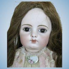 "Stunning 23"" Early Block Letter FG Bebe Doll"