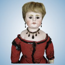 """Antique 18"""" German Closed Mouth Fashion Type Doll"""