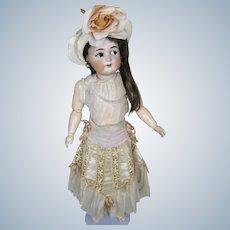 "Antique German 21"" Simon Halbig K*R Flirty Eye Bisque Head Doll"
