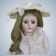 Antique French Walking Doll Roulett et Decamps Simon Halbig with Key