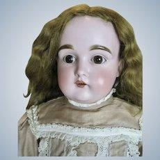 """Antique 26"""" German Bisque Head Kestner Doll"""