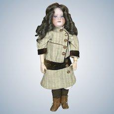 Antique Morimura Bros Bisque Head Doll ~ Original Dress