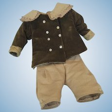 Antique Outfit for Boy Doll ~ Knickers and Jacket