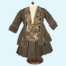 Artisan French Bebe Doll Dress with Jacket