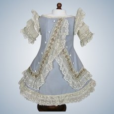 Gorgeous Artisan Made Doll Dress for Antique Doll