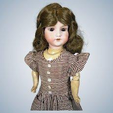 So Cute Antique German Armand Marseille Bisque Head Doll