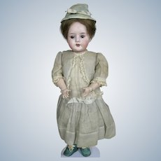 """Antique 15"""" German Bisque Head Doll ~ All Antique Clothing"""