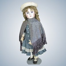 Antique Silk Doll Cape with Gorgeous Silk Thread Trim