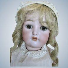 """Gorgeous 24"""" Simon Halbig K*R Bisque Head German Doll ~ Original Clothes"""