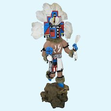 Vintage Kachina Wood Indian Doll Chief Hemis by KETO