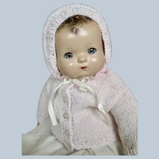 Vintage Effanbee Patsy Composition Baby Doll
