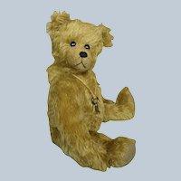 Vintage Shoestring Teddy Mohair Teddy Bear 1994 Artist Joey Morrison Smith