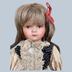 Antique German Paper-mache Regional Doll