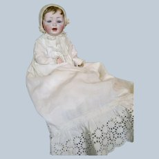 Antique German Hertel Schwab 152 Mold Baby Doll ~ Layers of Clothing