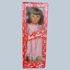 Beautiful 1980s Kathe Kruse Doll MIB
