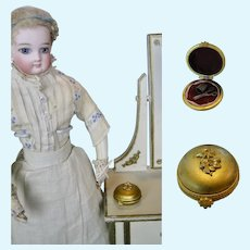 Antique Sewing Etui Necessaire for French Fashion Poupee Doll