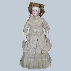 Antique Fashion Doll Dress ~ French Poupee ~ Milliner ~ Papier-mache