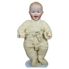 Antique Gebruder Heubach Laughing Grinning Baby Boy Doll