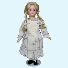 """Sweet 11"""" Antique German Bisque Head Doll with BJB Body"""
