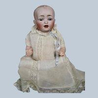 "Adorable 10"" Antique German Hertal Schwab 151 Baby Doll"