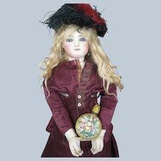 Gorgeous Miniature Austrian Enamel Filagree Perfume Bottle ~ Perfect Fashion Doll Accessory