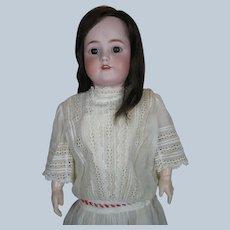 "Antique 28"" Handwerck Halbig German Bisque Head Doll"