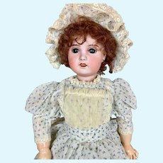 "Sweet 21"" SFBJ Jumeau Type French Doll"