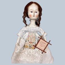 "Sweet 10"" Artist Queen Anne Doll ~ Attic Baby, Nancy Gerber"