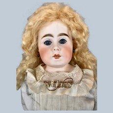Antique German Mystery Lady Fashion Bisque Head Doll