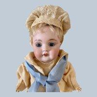"Most Adorable All Original 8"" Kestner 143 Character Doll"