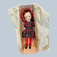 1950s Hard Plastic Betsy McCall Doll in Original Box with Pamphlet