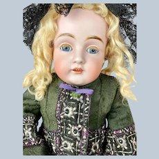 """Antique 23"""" Kestner Dainty Dorothy Bisque Head Doll"""