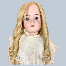 """Antique 25"""" German Karl Hartman Antique Bisque Head Doll"""