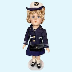 Minty 1942 Madame Alexander Wendy Ann W.A.V.E Military Composition Doll