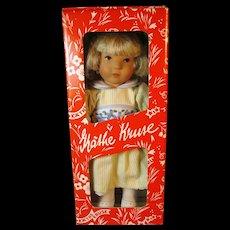 """Kathe Kruse Luane Elisa 10"""" Doll, MIB - Red Tag Sale Item"""