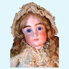 Rare Kestner CM Pouty Antique Bisque Head Doll Mold 103 Closed Mouth