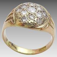 Vintage 14 karat Gold and Diamond Ring