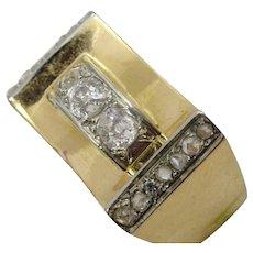 Vintage 18 karat Gold and Diamond Ring