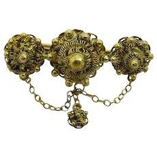 Vintage 14 Karat Gold Pin
