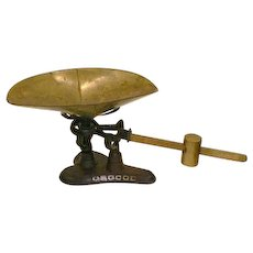 OSGOOD Balance Beam Scale with Brass Pan