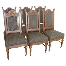 Victorian Dining Chairs Set of 6 by Hastings