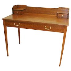 Oak Arts and Craft Desk