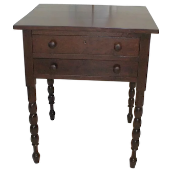 19th Century American Stand Table