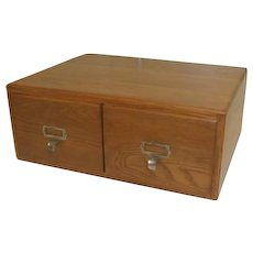 Two Drawer File Cabinet by Imperial