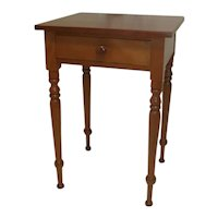 Cherry Stand Table Circa 1860