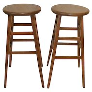 Oak Laboratory Stools from University of Toledo